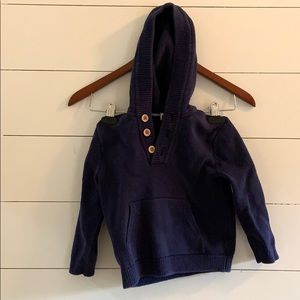 Janie and Jack hooded sweater
